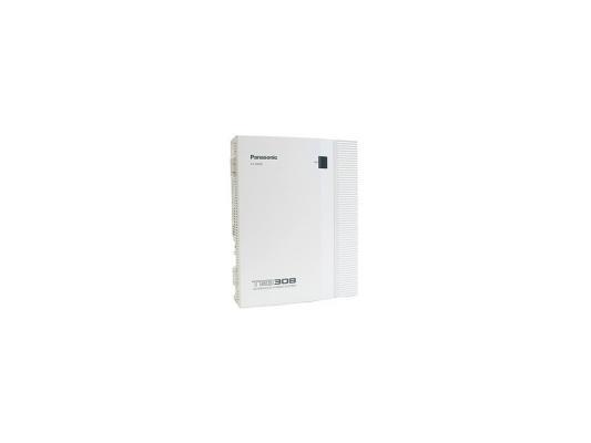 АТС Panasonic KX-TEB308RU аналоговая, 3 внешних и 8 внутренних линий (нерасширяемая) цифровая ip атс panasonic kx ns500ru