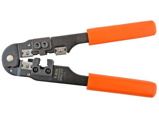 Клещи для обжима Gembird/Cablexpert T-210/60 для витой пары RJ-45 8p8c