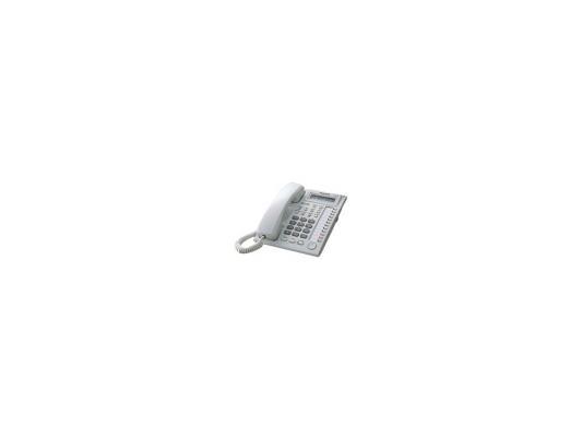 Системный телефон Panasonic KX-T7730RU белый телефон dect gigaset l410 устройство громкой связи
