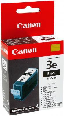 Струйный картридж Canon BCI-3eBK черный для Canon S450 310стр  canon bci 3ebk 4479a002 black