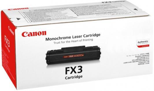 Картридж Canon FX-3 для MultiPass L60 черный 2700стр canon fx 10 для l100 l120 black картридж