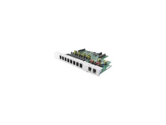 Плата дополнительных линий Panasonic KX-TE82480X 8 аналоговых внутренних линий + 2 внешние линии для АТС TES/M 824 атс