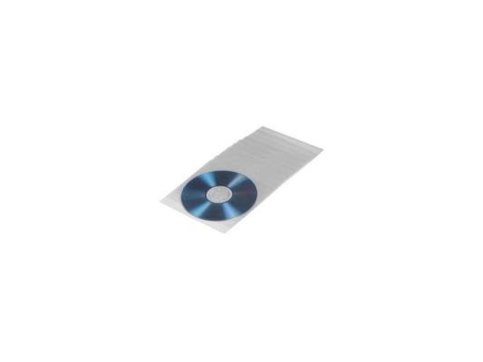 Конверты Hama для CD/DVD пластиковые 50шт H-33809