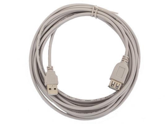 Кабель удлинительный USB 2.0 AM-AF 4.5м Gembird CC-USB2-AMAF-15 кабель удлинитель usb2 0 buro usb2 0 am af s a m a f