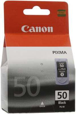 Струйный картридж Canon PG-50 черный для Pixma MP-450/150/170 картридж canon pg 40 черный pixma mp450 mp150 mp170 ip1600 ip2200 ip6210d 0615b025