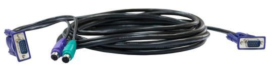 Комплект кабелей для DKVM D-Link DKVM-CB 2xPS/2 1xVGA 1.8м кабель d link dkvm cb3 b1a