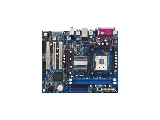 Материнская плата ASRock P4i65G (M/ASR) Socket478 i865G DDR400 SATA AGP Video Sound LAN mATX Retail материнская плата asrock b150m pro4s s1151 b150 matx