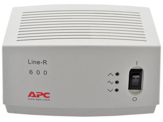 все цены на Стабилизатор напряжения APC Line-R LE600I белый 4 розетки 2 м онлайн