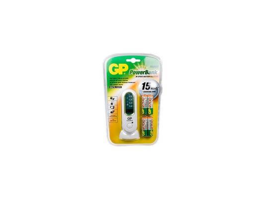 Зарядное устройство + аккумуляторы GP V800С 2700 mAh AA 4 шт зарядное устройство и аккумулятор gp powerbank pb420gs130 1300mah aa 4шт