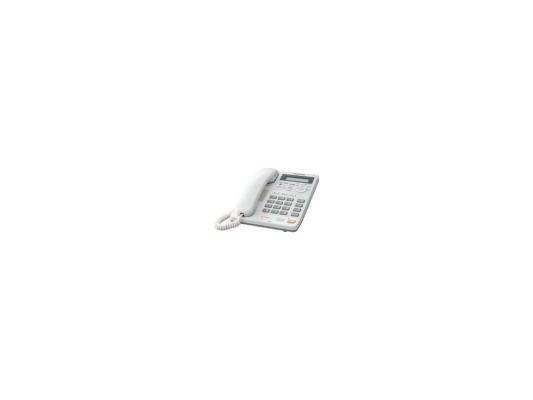 Телефон Panasonic KX-TS2570RUW белый, АОН, автоответчик, спикерфон