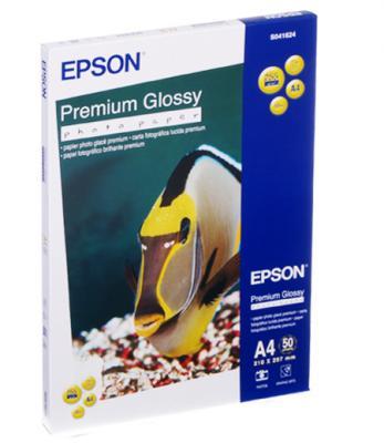 Фотобумага Epson A4 255 г/кв.м глянцевая 50л C13S041624 фотобумага epson c13s041893
