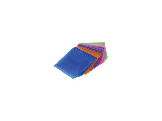 Конверты Hama H-33801 для CD/DVD полипропиленовые цветные 50шт