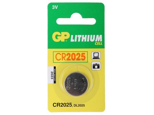 Батарейка GP Lithium CR2025 1 шт