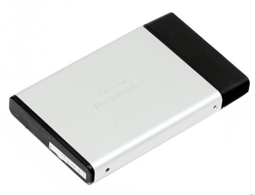 "Внешний контейнер для HDD 2.5"" SATA Vipower VPA2-25118IL-S-E Silver, USB2.0, eSATA"