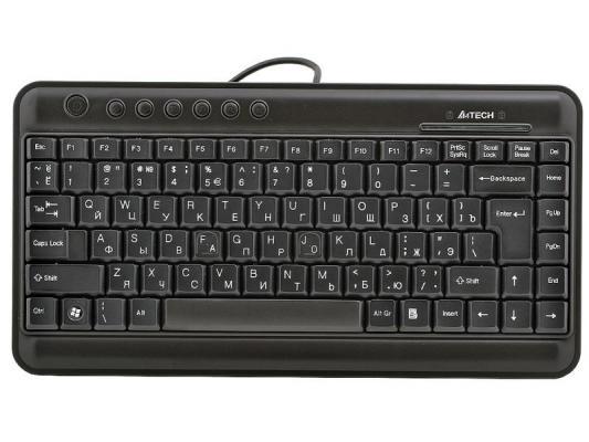 Клавиатура A4TECH KL-5 Slim USB черный