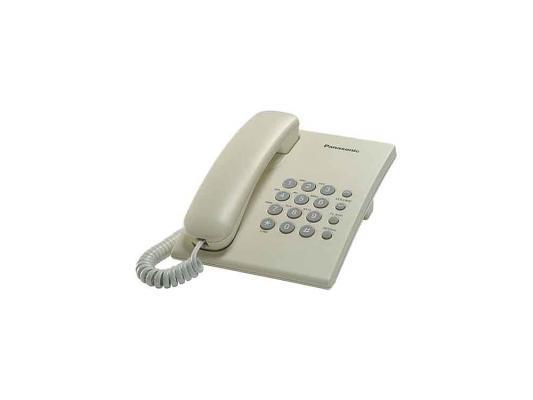 Телефон Panasonic KX-TS2350RUJ телефон panasonic kx ts2350ruj бежевый