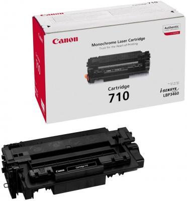 Картридж Canon 710 Black для LBP3460 6000 копий canon 712 1870b002 black картридж для принтеров lbp 3010 3020