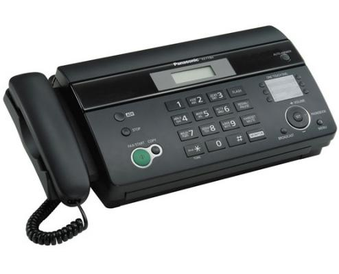 Факс Panasonic KX-FT984RU-B телефон факс