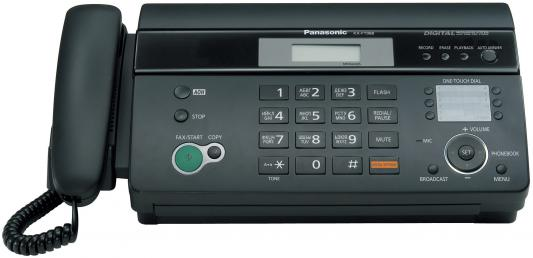 Факс Panasonic KX-FT988RU-B термобумага