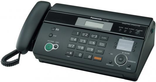 Факс Panasonic KX-FT988RU-B термобумага от 123.ru