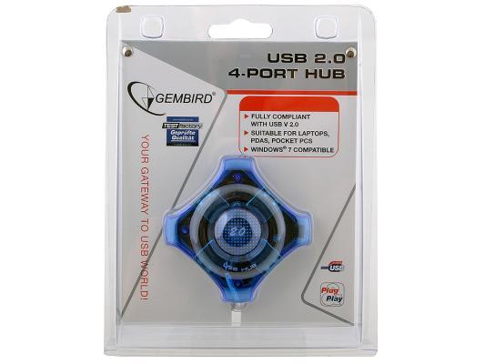 Концентратор USB GEMBIRD UHB-C224 4 порта 12 300