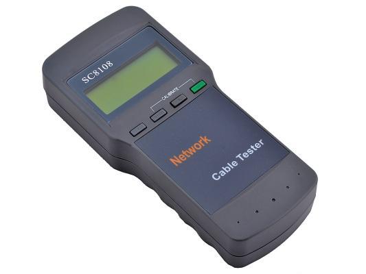 Тестер кабеля 5bites LY-CT014 для UTP/STP RJ45 BNC RJ11/12 тестер кабеля 5bites ly ct025 для rj45 12 трассоискатель генератор тонального сигнала