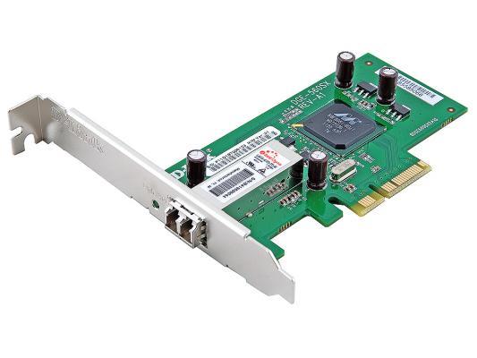 Сетевой адаптер D-LINK DGE-560SX 1000BaseSX (LC) 64/32 bit PCI-E Ethernet адаптер