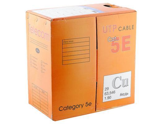 Кабель Telecom CU-IS UTP 4 пары кат 5e 305м TC1000C5ELigh(CU)