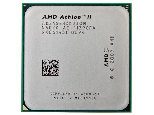 Процессор AMD Athlon II X2 245 2.9GHz 2Mb ADX245OCK23GM/AD245EHDK23GM Socket AM3 OEM
