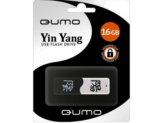 Флешка USB 16Gb QUMO Yin&Yan USB2.0 черно-белый QM16GUD-Y&Y цена и фото