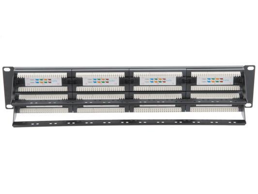 """Патч-панель 5bites LY-PP5-08 UTP 5e кат 48 портов Krone&110 dual IDC 19"""" от 123.ru"""
