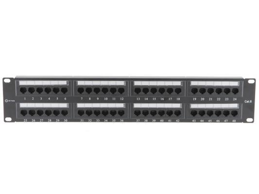 Патч-панель 5bites LY-PP6-06 UTP 6 кат 48 портов Krone&110 dual IDC 19 модуль информационный brand rex cat6plus c6cjaku013 keystone rj45 кат 6 белый utp 110 idc