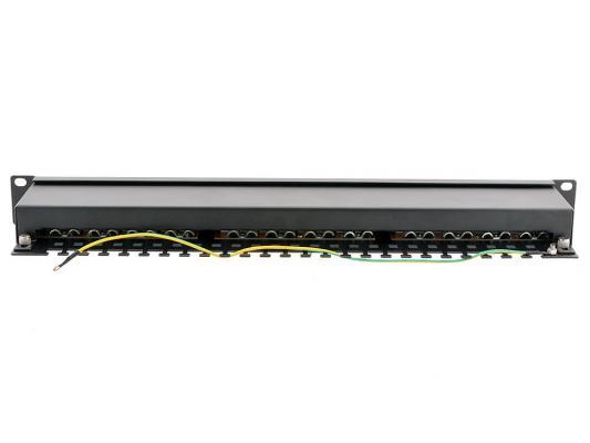"""Патч-панель 5bites LY-PP6-14 FTP 6 кат 24 порта Krone IDC 19"""" от 123.ru"""