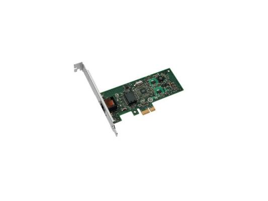 Сетевой адаптер Intel EXPI9301CTBLK Network Card PRO/1000 PT Gigabit Adapter PCI-E-1x OEM 2017 new 50cm usb3 0 pci e express 1x to 16x extender riser card adapter sata 6pin power cable