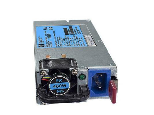 Блок питания HP Hot Plug Redundant Power Supply 460W Option Kit for 160G6/180G6/320G6/360G6/370G6/380G6/385G5pG6/350G6/370G6 [503296-B21]