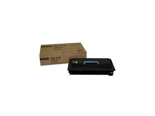 Картридж Kyocera TK-715 для KM-3050 4050 5050 34000стр new original kyocera 303h607020 303jx07460 303jx07330 303jx07400 pulley feed adf 1 set of 4 for km 3050 4050 5050 dp 700
