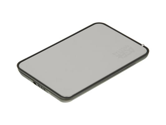 "Внешний контейнер для HDD 2.5"" SATA AgeStar SCB2A8 USB2.0 eSATA серебристый от 123.ru"