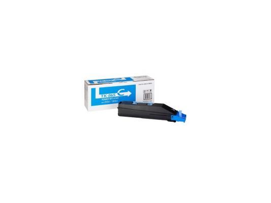 Картридж Kyocera TK-865C для TASKalfa 250Ci 300Ci голубой 12000стр тонер картридж kyocera tk 865c для taskalfa 250ci 300ci