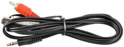Фото - Кабель соединительный 3.0м VCOM Telecom 3.5 Jack (M) - 2xRCA (M) стерео аудио VAV7183-3M standard usb 3 0 a male am to usb 3 0 a female af usb3 0 extension cable 0 3 m 0 6 m 1 m 1 5 m 1 8m 3m 1ft 2ft 3ft 5ft 6ft 10ft