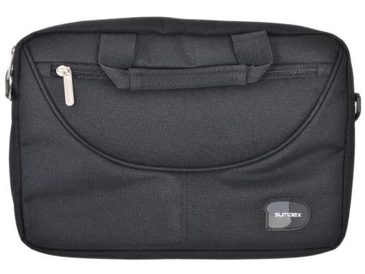 "Сумка для ноутбука 10"" Sumdex PON-308BK Black нейлон-полиэстер цена и фото"