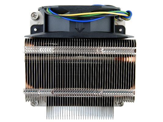 Кулер для процессора Intel STS100C, Socket 1366 (Cu+Al+тепловые трубки) Active/2U passive от 123.ru