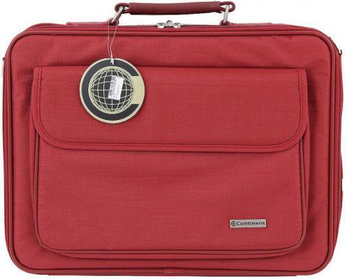 "Сумка для ноутбука 15"" Continent CC-03 Red нейлон сумка для ноутбука 16 0 continent cc 036 red"