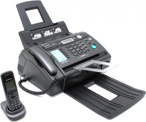Факс Panasonic KX-FLC418RU лазерный факс panasonic kx fc278ru t на основе термопереноса темно серый металлик