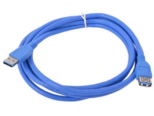 Кабель удлинительный USB 3.0 AM-AF 1.8м Gembird CCP-USB3-AMAF-6 кабель gembird usb 3 0 microbm usb 3 1 type c 1 8м ccp usb3 mbmcm 6