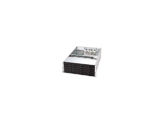 Серверный корпус 4U Supermicro CSE-846TQ-R900B 900 Вт чёрный серебристый