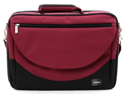 Сумка для ноутбука 15.6 Sumdex PON-302RD Red нейлон/полиэстер
