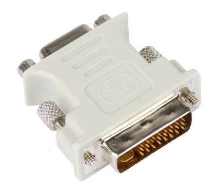 Фото - Переходник VCOM Telecom VAD7817 DVI-VGA 29M/15F переходник dvi vga vcom cg491
