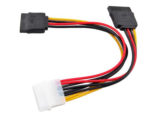 Переходник питания на 2 HDD Serial ATA VCOM Telecom VPW7572