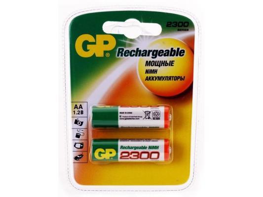 Аккумулятор GP 230AAHC 2300 mAh AA 2 шт  230AAHC