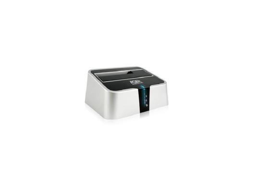 Док станция для HDD 2.5/3.5 SATA AgeStar 3CBT2 USB3.0 eSATA серебристый оперативная память ddr3 2gb pc12800 1600mhz crucial ct25664bd160bj